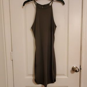 Lovely Olive Green Dress